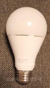 LED電球の写真です。